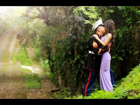 Our love story : My Marine and I  - Semper Fidelis.