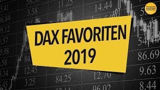 Meine DAX-Favoriten 2019