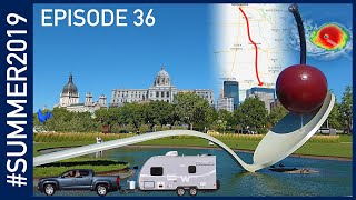 Minneapolis / St Paul, and the Big Hurricane Detour - #SUMMER2019 Episode 36