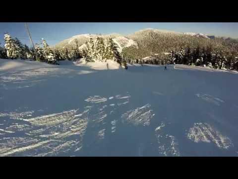 Shore Line, Panorama, Crazy Raven & 3 Bears - Cypress Mountain - Skiing