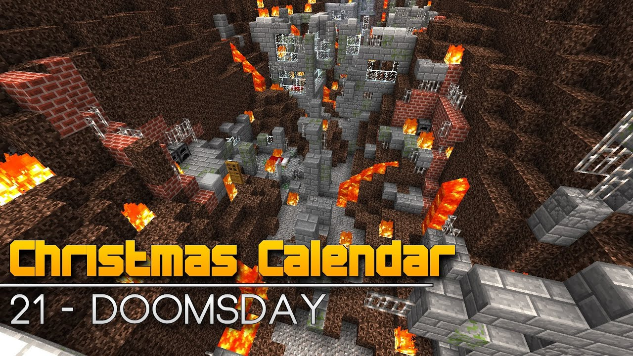 Christmas Calendar Minecraft Download : Christmas calendar doomsday minecraft parkour map
