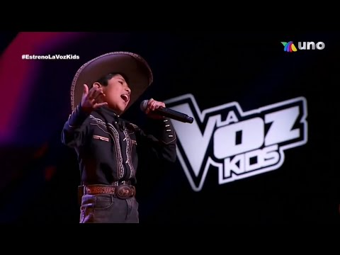 "Jesús ""El Jilguerillo de Tlaxcala"" - Ay Chabela | Programa 1 La voz kids México 2021 [FULL HD 60FPS]"