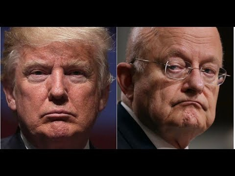 TRUMP TELLS JAMES CLAPPER HE MAY BE HEADED TO PRISON AFTER SHOCKING EVIDENCE EMERGES!