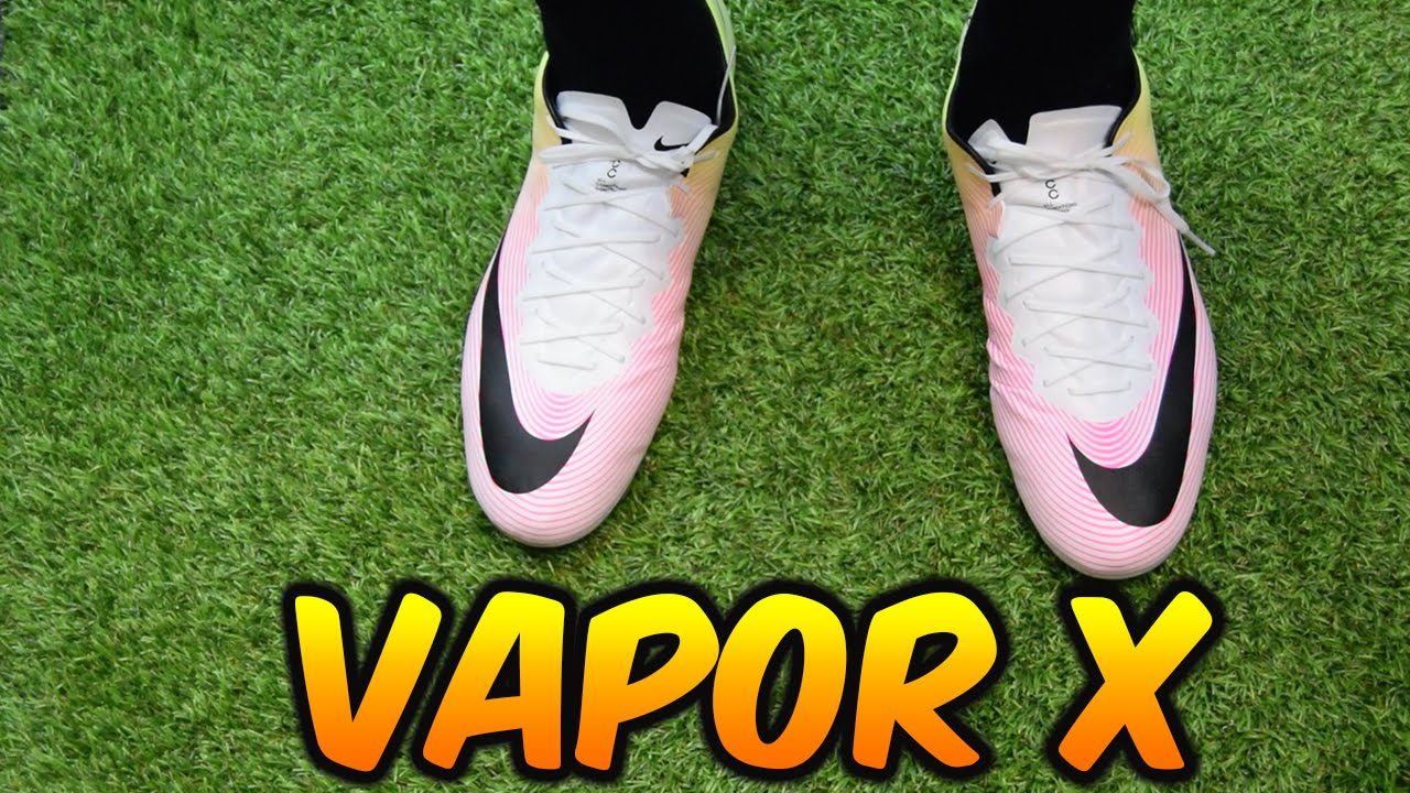 NIKE MERCURIAL VAPOR X REVIEW (RADIANT REVEAL PACK) REVIEW+ On feet -  YouTube 667efac89450