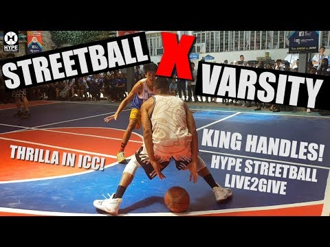 Hype Streetball Vs Varsity - King Handles Tour 2019 (part7)