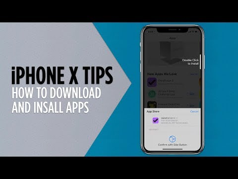 iPhone X Tips - How to Download and Install Apps