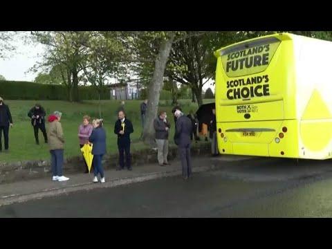 استقلال إسكتلندا الرهان الرئيسي للانتخابات المحلية البريطانية  - نشر قبل 44 دقيقة
