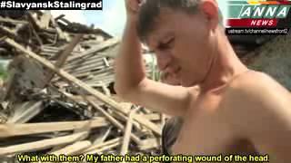 Киевские оккупанты  убивают ваших детей, женщин, пожилых и друзей!  Украина   Kiev occupiers kill yo
