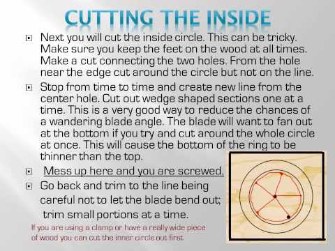 Tips on making your own Wood Gymnastic Rings