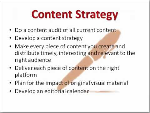 Social Media Strategy Template  Youtube