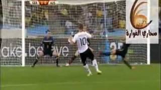 اهداف  المانيا - استراليا 4-0  كأس العالم 2010