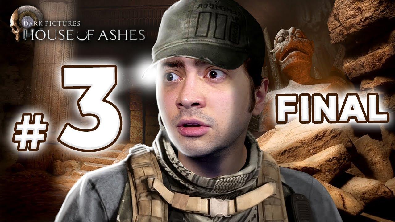 alanzoka jogando The Dark Pictures: House of Ashes - Parte #3 / FINAL