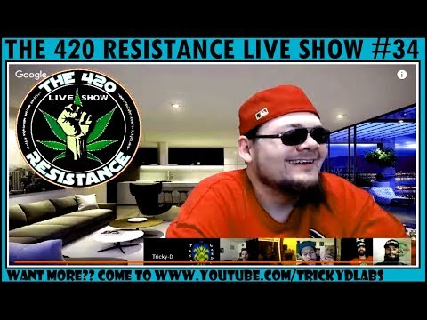 THE 420 RESISTANCE LIVE SHOW #34 - Soil Talk with Chris Trump!