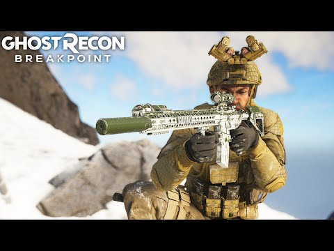 Ghost Recon Breakpoint 416 SCOUT CAN DO IT ALL! Ghost Recon Breakpoint Free Roam - Part 53