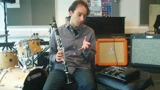 Piezobarrel with delay, reverb and harmonizer