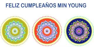 Min Young   Indian Designs - Happy Birthday