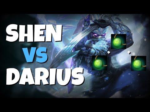 SHEN TOP LANE VS DARIUS - SEASON 8!