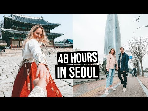 First Time in South Korea   48 Hours in Seoul