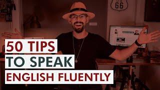 50 useful tips to speak English //