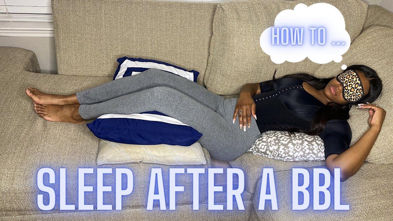 how to sleep after a bbl l bbl