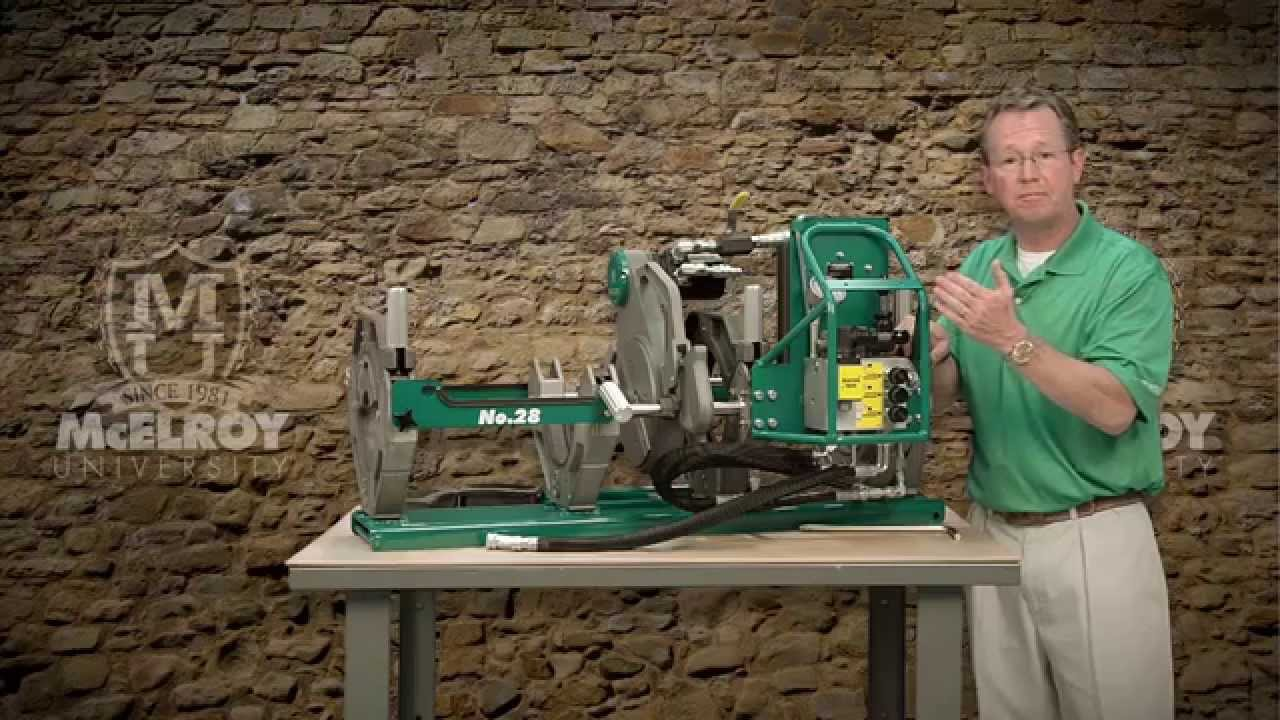 McElroy Pit Bull® 250 Fusion Machine