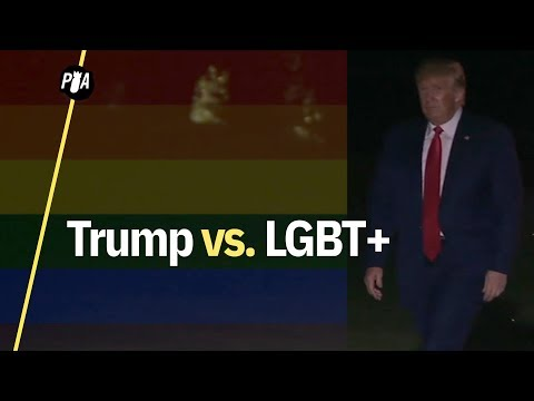Trump busca legalizar despidos de personas LGBT