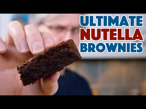 🔵 The Ultimate Nutella Brownie Recipe