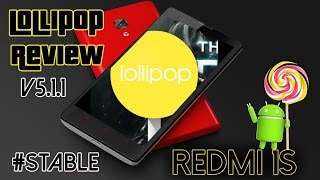 Redmi 1s on Lollipop 5.1.1 (review and tricks!)