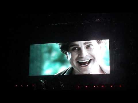 Ozzy Osbourne - Intro video/Bark at the Moon - Scream Tour '11