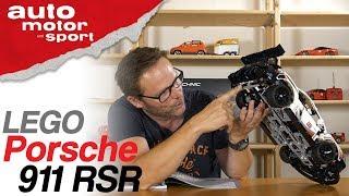 So gut wie das Original ? Lego Porsche 911 RSR - Bloch spielt #1 | auto motor und sport