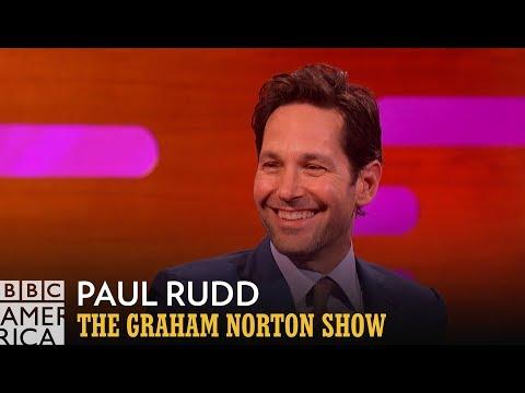 Learn Cantonese with FBI Agent Paul Rudd   The Graham Norton Show   BBC America