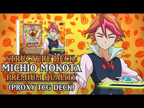 Structure Deck: Michio Mokota (Premium Quality) | Cookpal Proxy / Orica TCG Deck