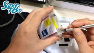 HP 8000 8500 HP 940 Cartridge CISS Installation Guide