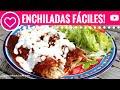 Deliciosas ENCHILADAS fáciles y sin freír- Las Recetas de Laura ❤ Recetas de Comida Saludable
