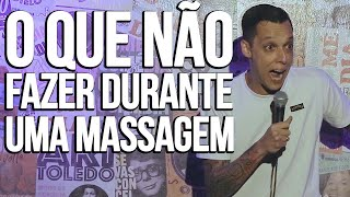 MASSAGEM - NIL AGRA - STAND UP COMEDY