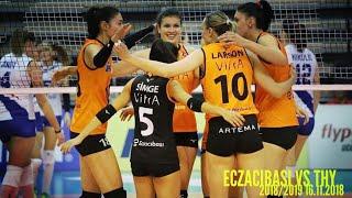 ECZACIBASI vs THY l 2018/2019 Turkey Women Volleyball  16.11.2018