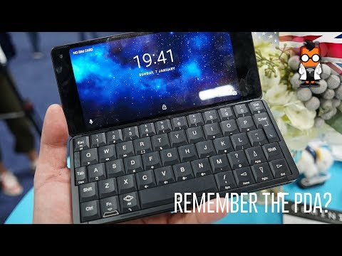 Remember the PDA? Gemini Foldable Phone Hands On
