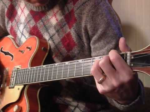 """The Beatles: """"Flying"""" (lesson,  take 2) 1969 Gretsch 6120"""