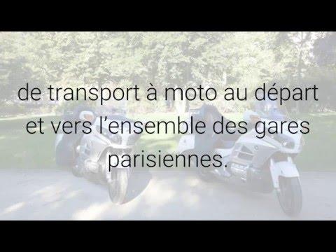 Moto taxis gares parisiennes