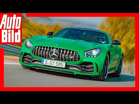 Video: Mercedes-AMG GT R (2016) - AMG Topmodell mit 585 PS