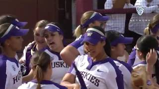 Recap: Taran Alvelo, Washington softball shuts out Arizona State