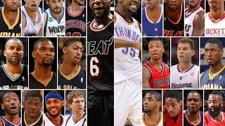 Justmypicks.com 2014 All NBA Team Selection