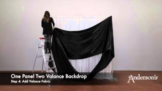 Two-tone Pipe and Drape