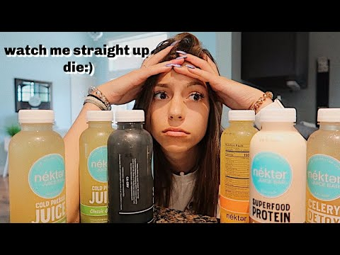 trying a 3 day juice cleanse...