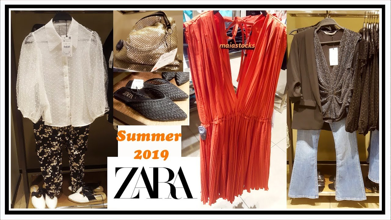 710a0dbb #ZARA NEW in #Summer2019 Ladies Wear, Shoes, Bags and Accessories Collection