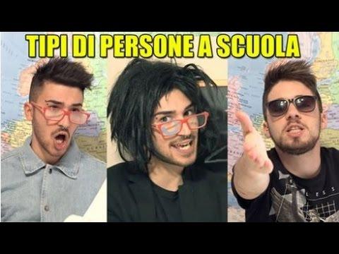 TIPI DI PERSONE A SCUOLA - Matt & Bise