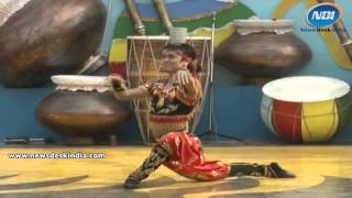 Pyala Dance By Kazak Artist At Surajkund Crafts Mela 2014