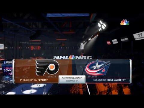 Playstation 4: NHL 18 - Philadelphia Flyers vs Columbus Blue Jackets: True Broadcast Cam