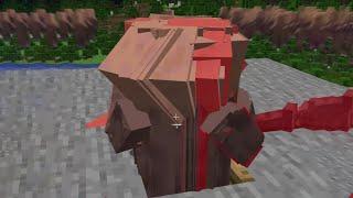 ヒカキン先生直伝!村人キャノンやってみたら。。【Minecraft】#shorts