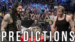 WWE Survivor Series 2015 Predictions - We Need a Brand Split Again